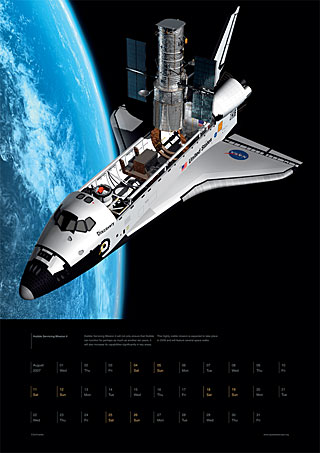 August 2007 - Go for Hubble Servicing Mission 4