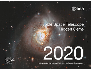 Hubble Space Telescope Calendar 2020