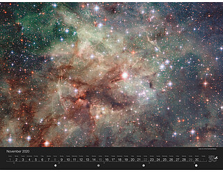 November - Close-Up of the Tarantula Nebula