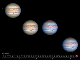 August - Crisp New Shots of Jupiter