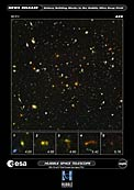 Hubble and Spitzer Uncover Smallest Galaxy Building Blocks