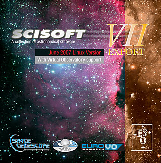 Scisoft VII Linux Astronomical Software Collection DVD
