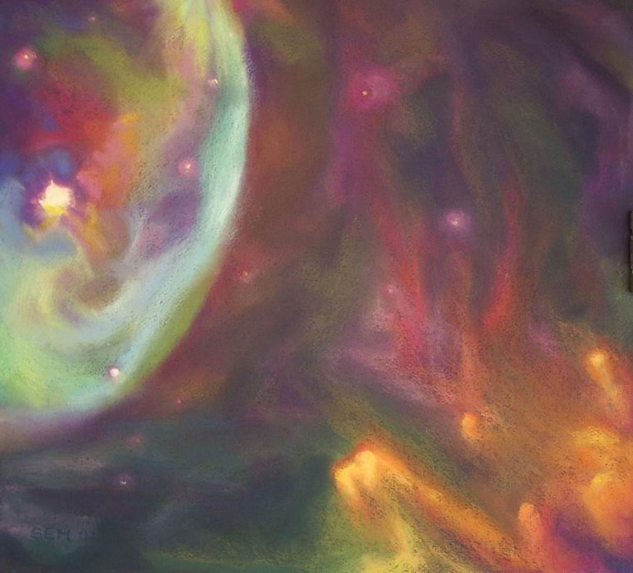 Dust in nebula