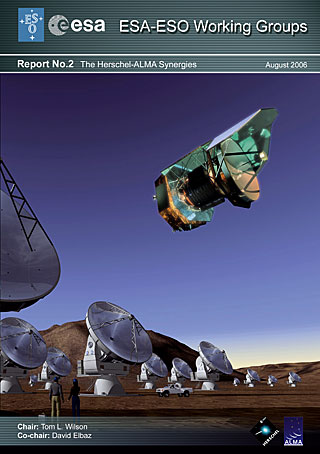 Report by the ESA-ESO Working Group on The Herschel-Alma Synergies