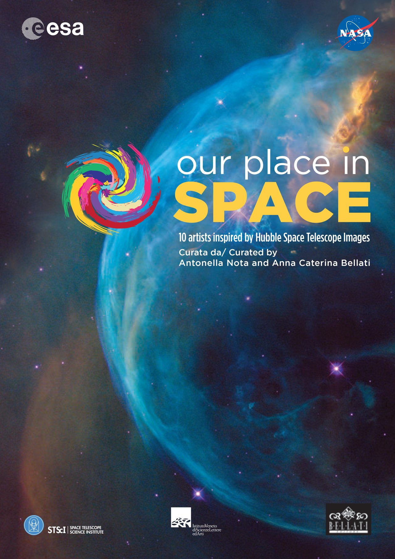 Our Place In Space Brochure Esa Hubble