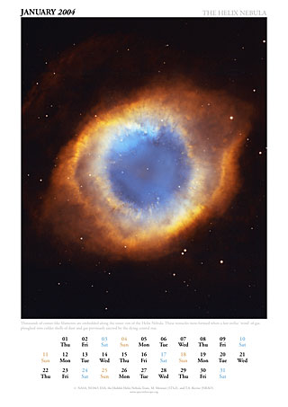 January 2004 - The Helix Nebula