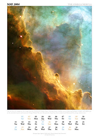 May 2004 - The Omega Nebula