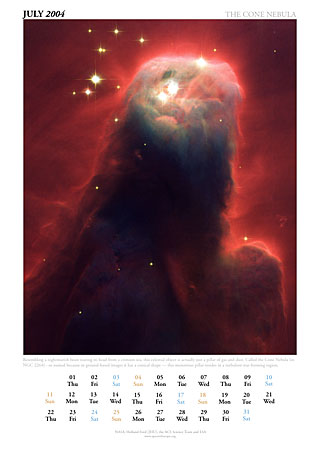 July 2004 - The Cone Nebula
