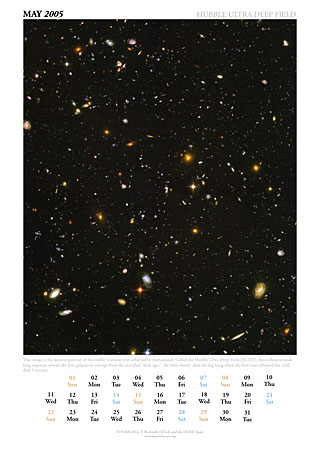 May 2005 - Hubble Ultra Deep Field