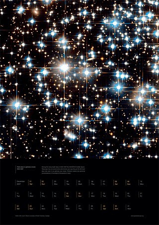 December 2007 - Faint stars in globular cluster NGC 6397