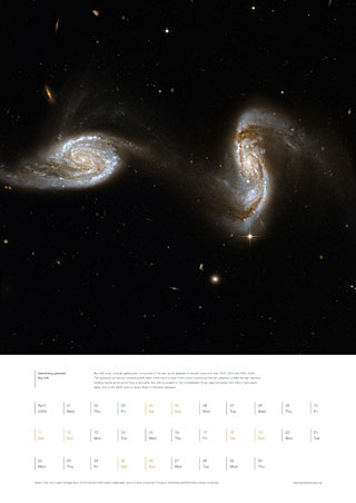 April 2009 - Interacting galaxies Arp 240