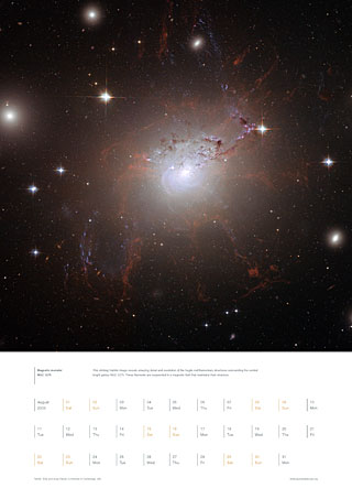 August 2009 - Magnetic monster NGC 1275
