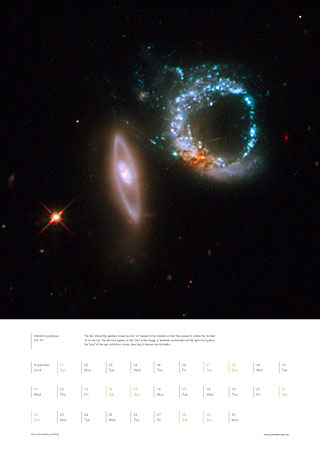 November 2009 - Interacting galaxies Arp 147
