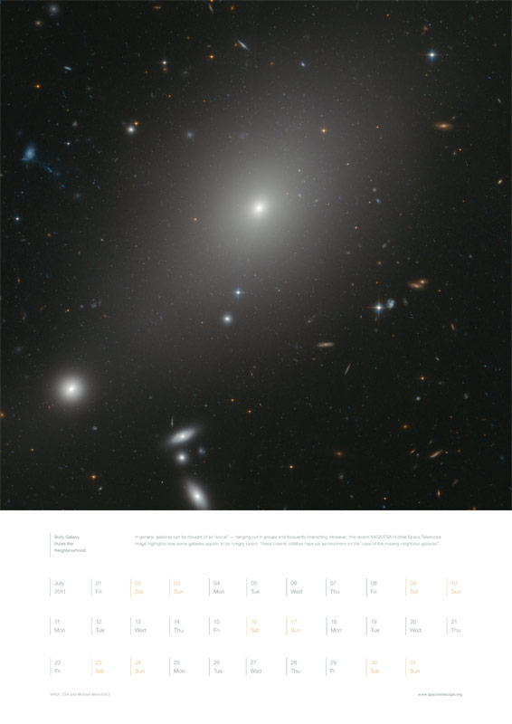 July 2011 – Bully Galaxy Rules the Neighbourhood