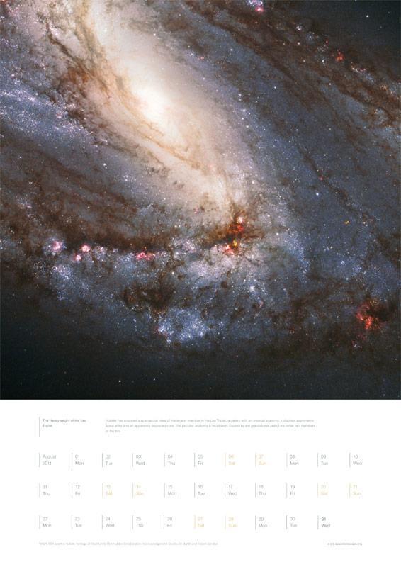 August 2011 – The Heavyweight of the Leo Triplet