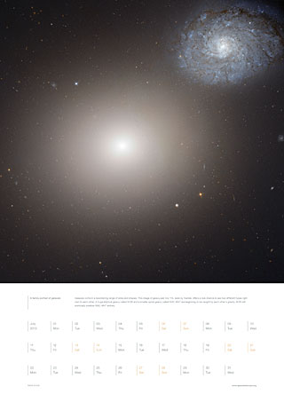 July 2013 - A family portrait of galaxies