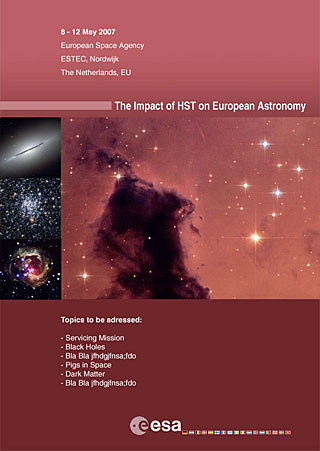 ESLAB2007 - The Impact of HST on European Astronomy