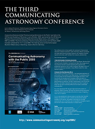 The Third Communicating Astronomy Conference