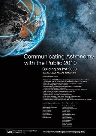 Communicating Astronomy with the Public 2010