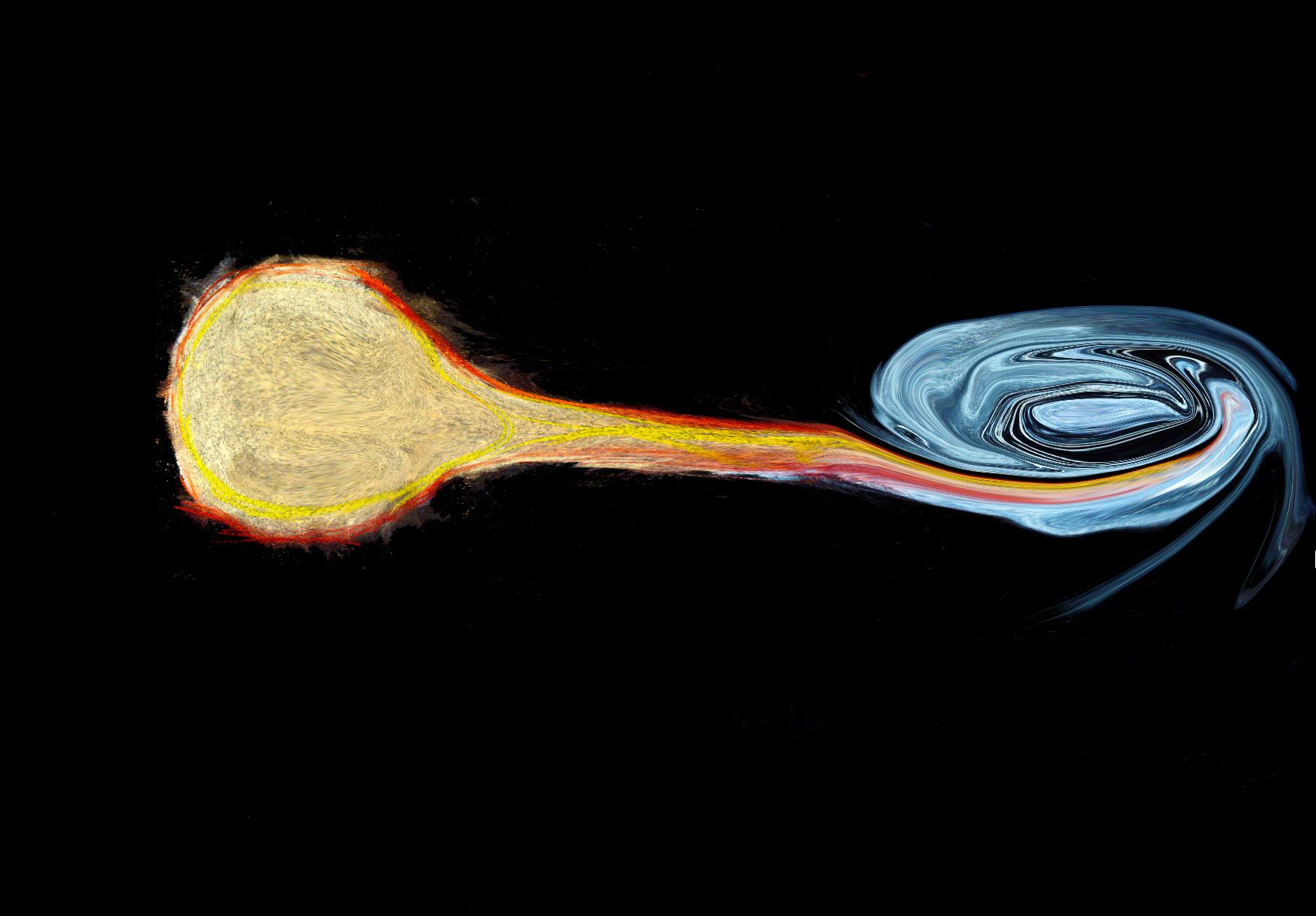 black hole consuming a star - photo #21