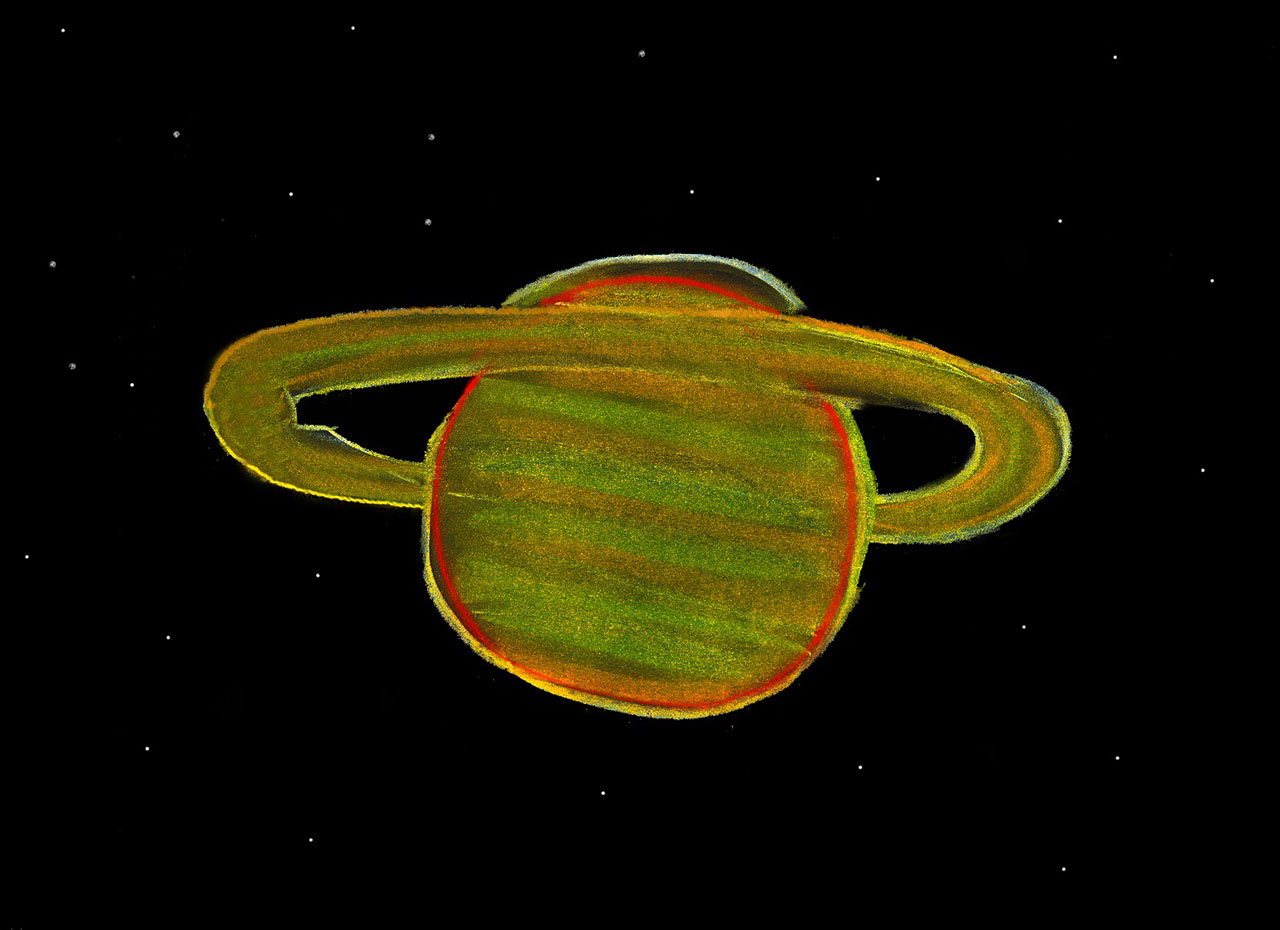 Saturn Esa Hubble
