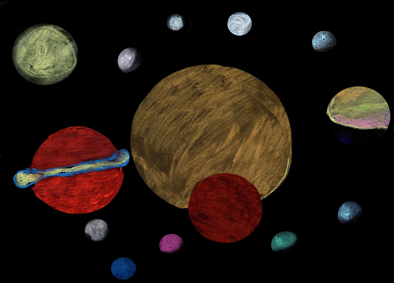 Planets Drawing Tumblr - Pics about - 194.7KB