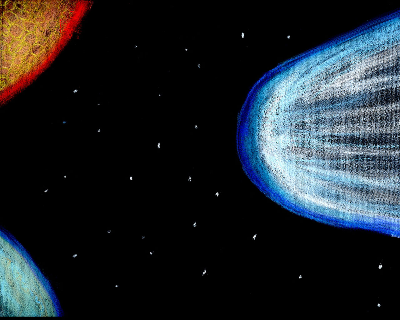 Comet Esa Hubble