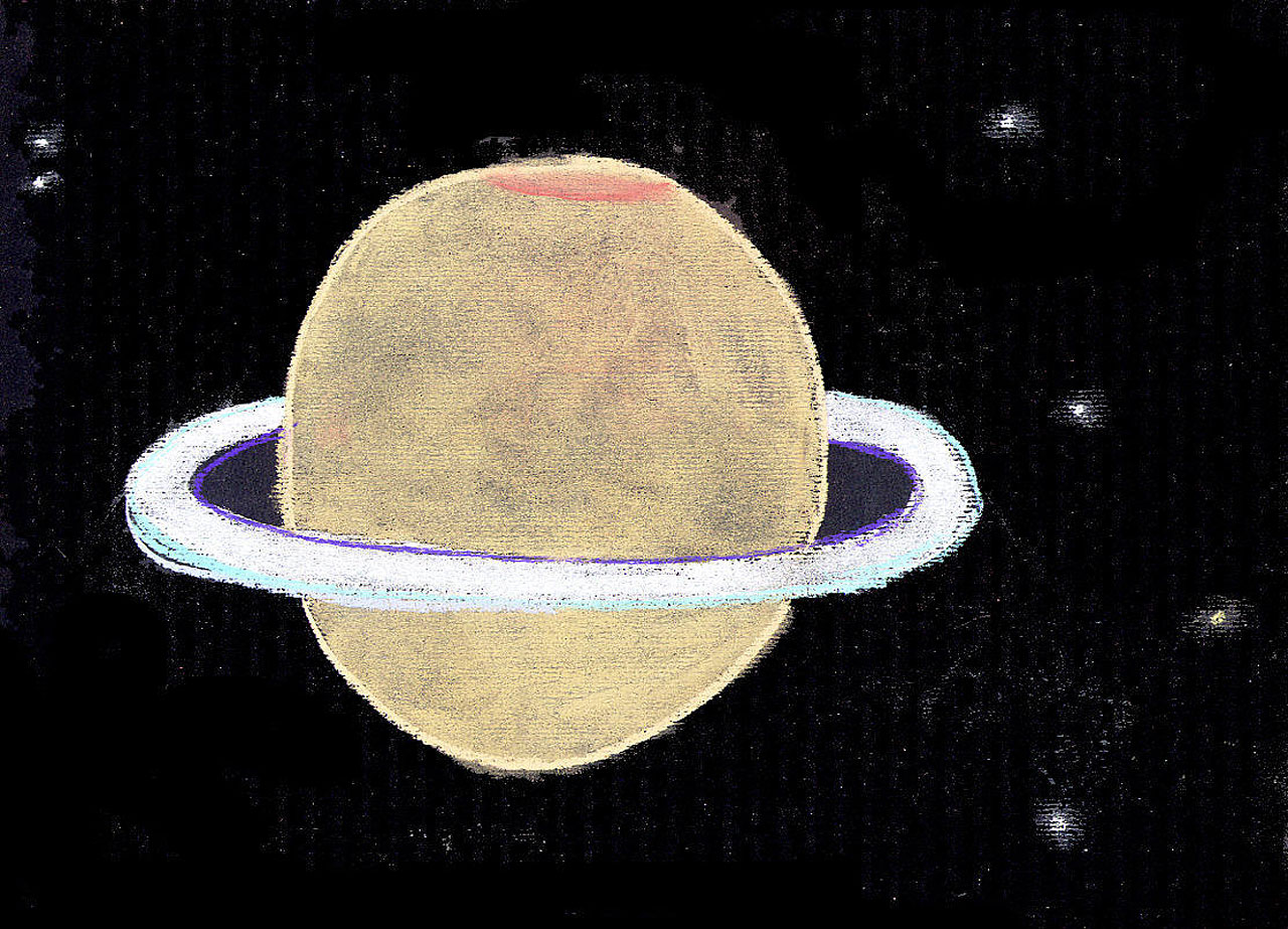 saturn planet drawing history ancient - photo #16