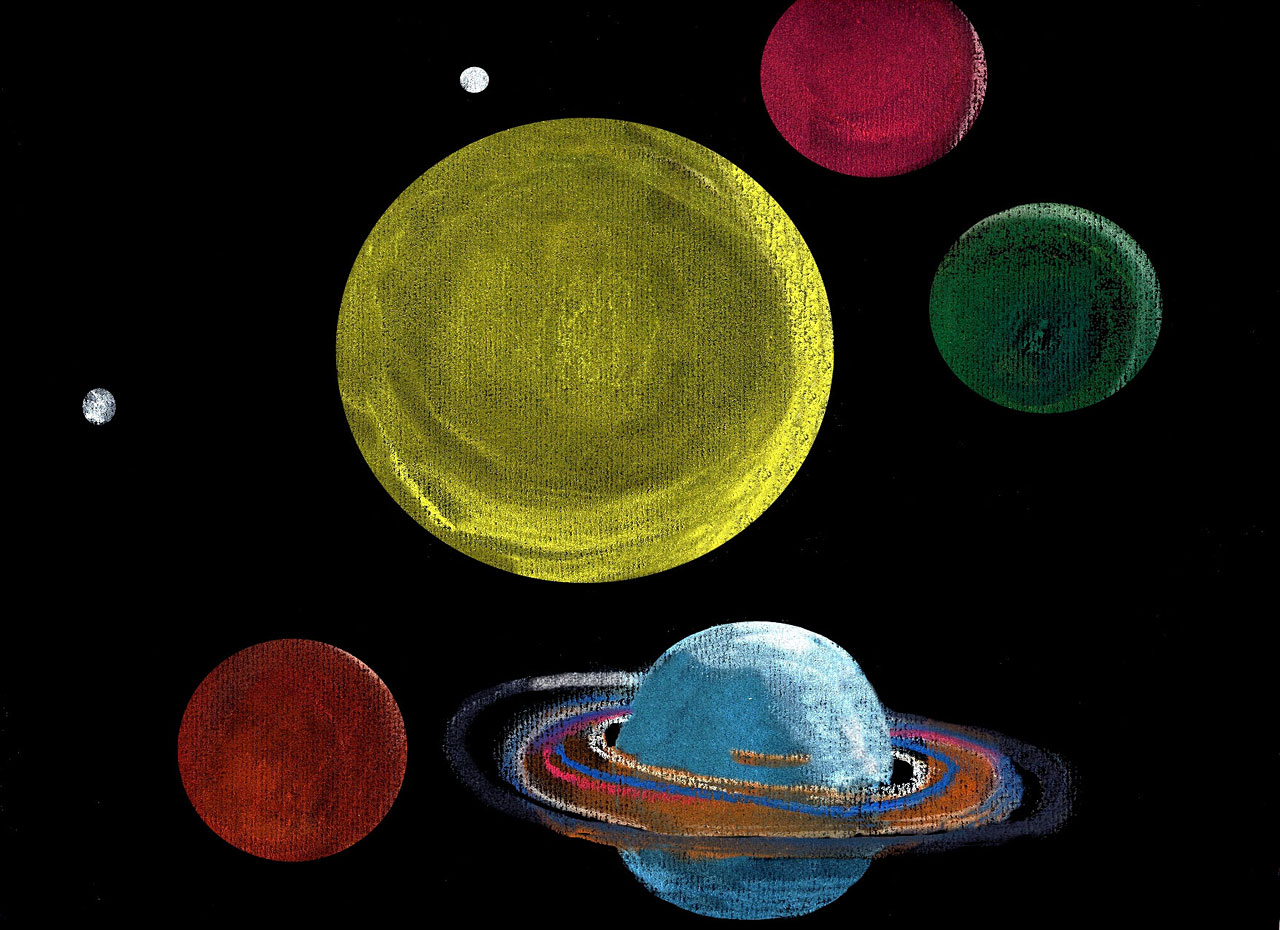 Drawings of Our Planets (page 3) - Pics about space