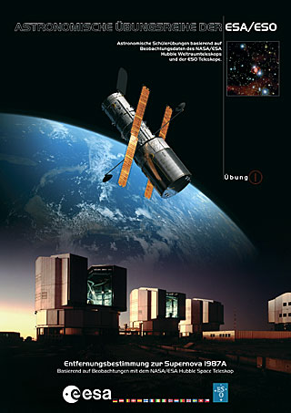 The ESA/ESO Exercise Series booklets German - Exercise 1