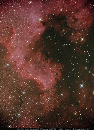 NGC7000 South/ Cygnus Wall