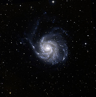 Messier 101: Lonely Spiral