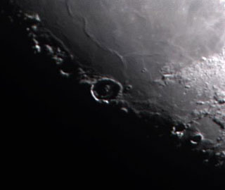 Partial Lunar Image