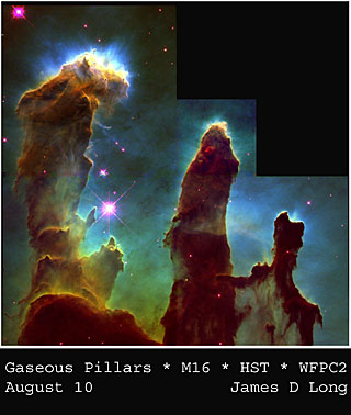 M16 - gaseous pillars
