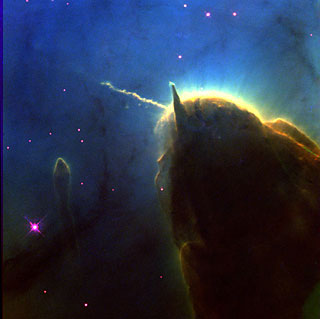 Part of the Trifid Nebula, The Unicorn