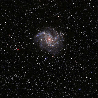 "NGC6946, the ""Fireworks"" galaxy"