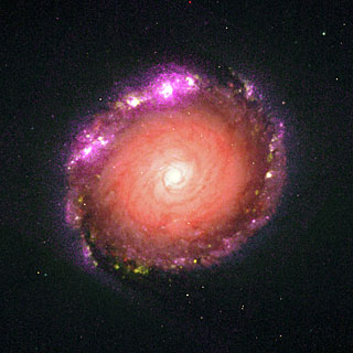 Galaxy NGC 1512 Experiment
