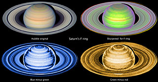 Hubble captures Saturn's F-ring