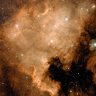 NGC 7000 (The North America Nebula)