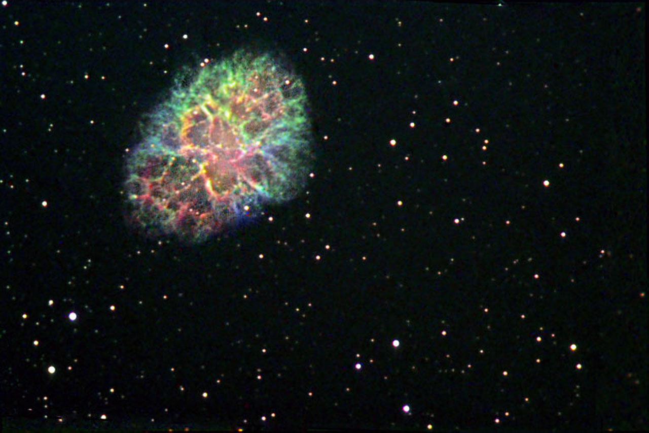 Crab nebula hubble