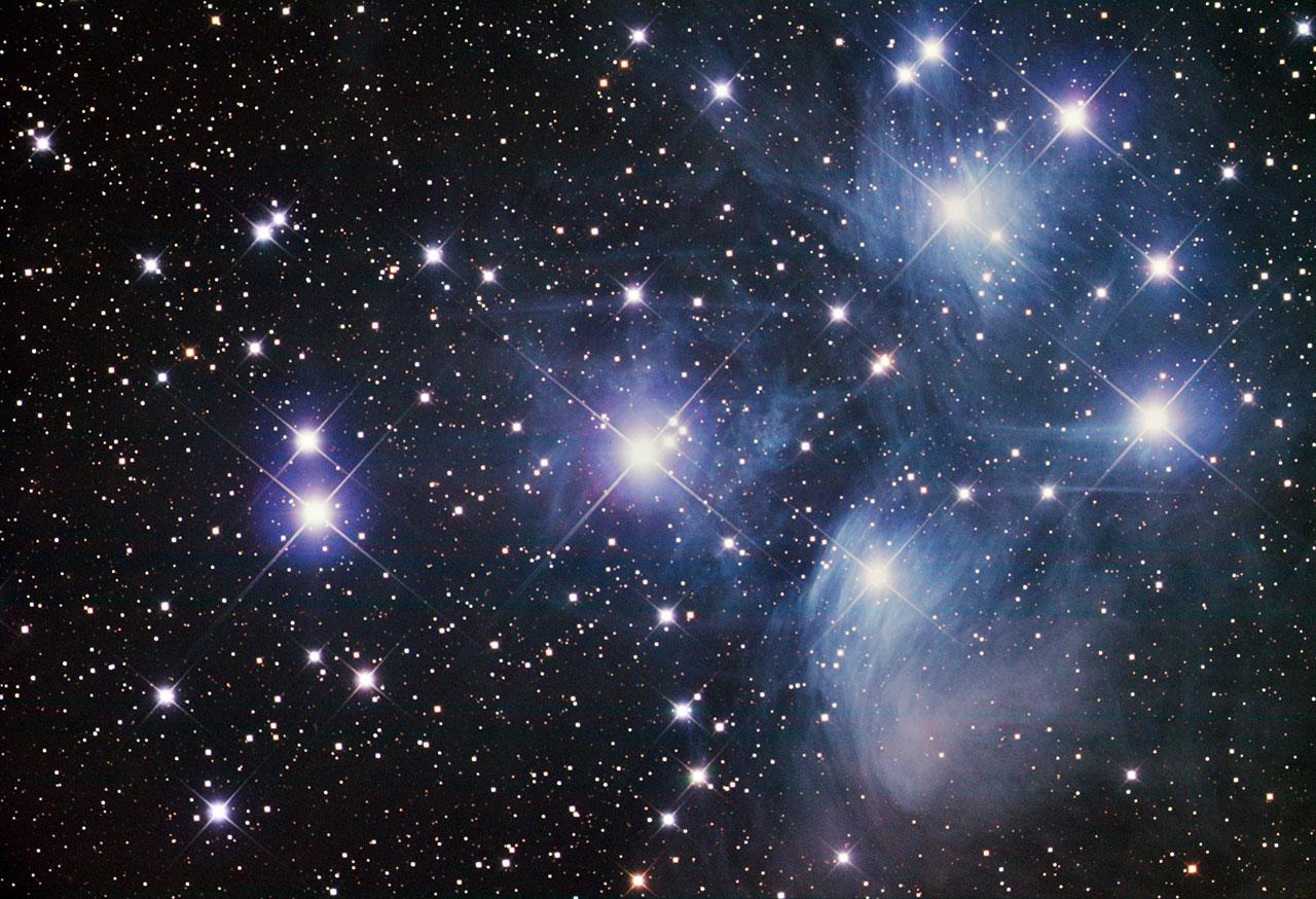 Messier 45 Esa Hubble