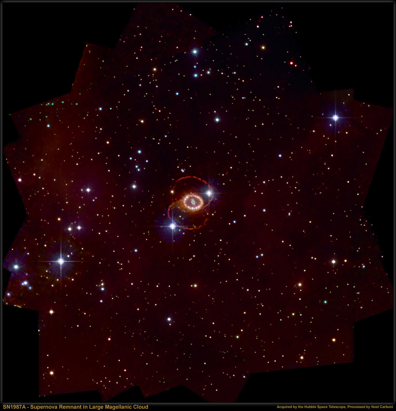 Best Image Of Sn 1987a Esa Hubble