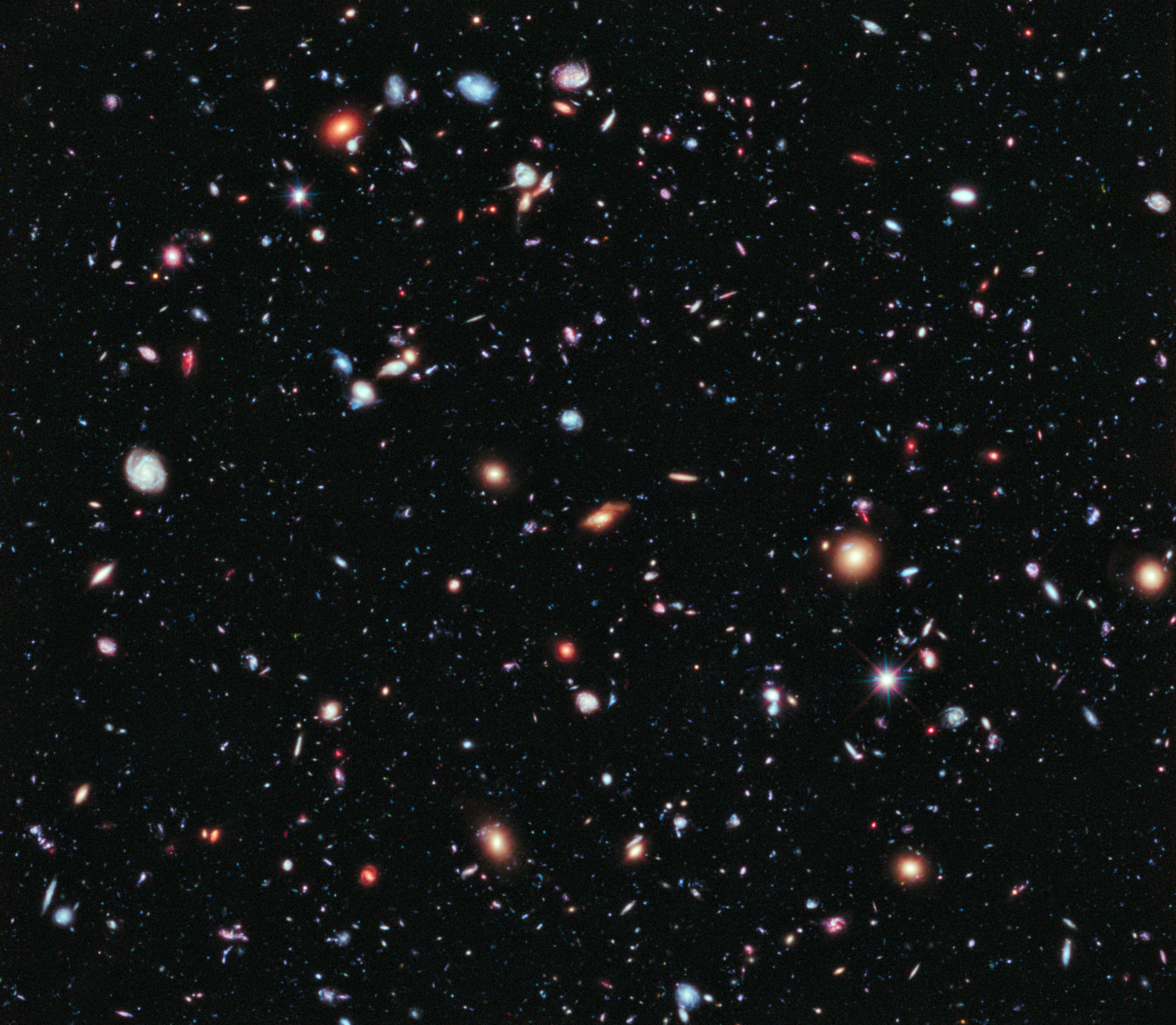 Revealing the Universe: the Hubble Extreme Deep Field - Bad