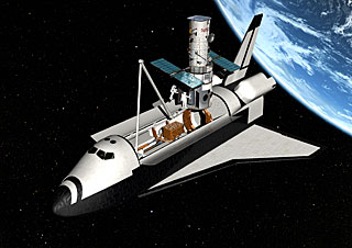 Hubble gets revitalised in new servicing mission