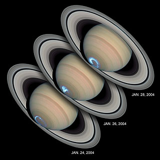 Saturn's dynamic aurorae
