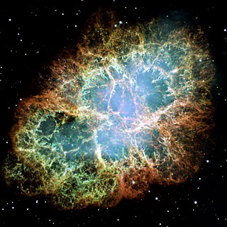 Most detailed image of the Crab Nebula