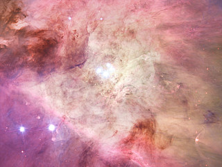 The Orion Nebula's biggest stars