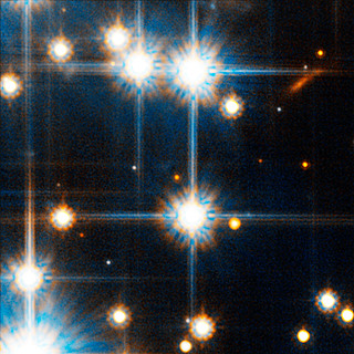 Faint Red Star in NGC 6397