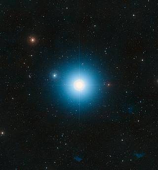 Imagem DSS de Fomalhaut (terrestres imagem)