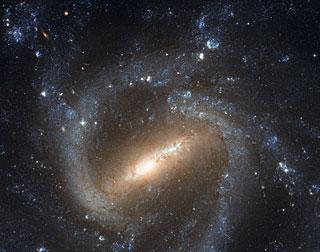 المجرة الحلزونيـة ذات الأعمدة